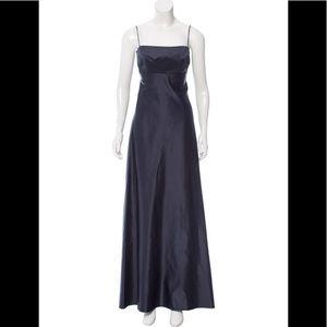 MORGANE LE FAY 100% Silk Gown w Shelf Bust XS